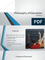 philosophy of education power point