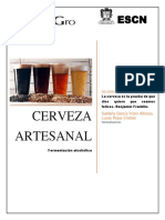 Cerveza Artesanal Ensayo