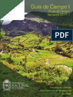 Guia de Campo i Unal Geologia 2017
