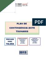 Plan de Contingencia Ante Tsunami- Cetpro San Pablo