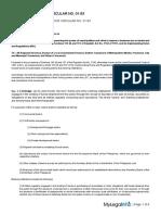 Dof Local Finance Circular No 01-93