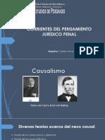 Corrientes Del Pensamiento Jurídico Penal - Corrientes