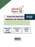 Plan Gestion Riesgos-cetpro Sam Pablo