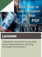 Thor at Loki.pptx