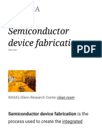 Semiconductor Device Fabrication