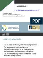 Pathophysiology of Diabetes Complications 2017