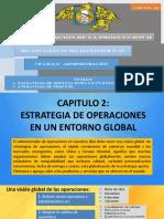 ESTRATEGIA DE OPERACIONES EN UN ENTORNO GLOBAL Y ESTRATEGIA DE PROCESOS