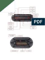 Pld - MODULO ELETRÔNICO  ECU PLD CONECTORES