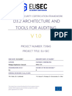 D3.2 Architecture and Tools for Auditing-V1