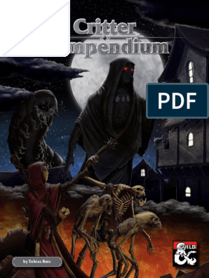 Critter Compendium | Dungeons & Dragons | Fantasy Role