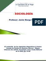 SOCIOLOGÍA LECCIÓN 5