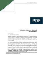 4. Especificaciones Tecnicas - CAMISEA