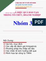 Danh Gia Hieu Qua Dao Tao (DH Mo)