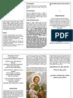 Folder Terço de São José