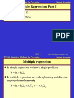 Multiple Regression_Statistical Method for Psychology