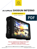 Shogun Inferno User Manual