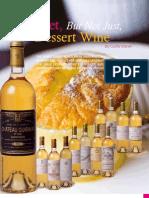 Sweet Dessert Wine
