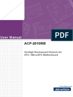 Advantech ACP 2010MB User Manual