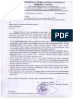 Surat Mekanisme Pengajuan Aktivas, Perubahan Nama KPA