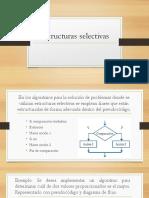 Estructuras selectivas