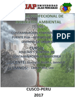 Analisis y Control de Contaminacion Ambiental (Fuente Fija-Horno de Pan)