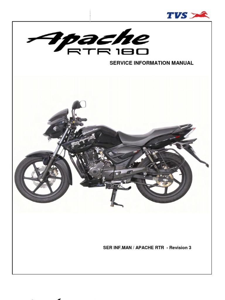 manual de servicio apache 180 pdf