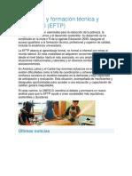 Educación y Formación Técnica y Profesional UNESCO 16