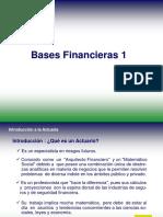 Bases Financieras de la Actuaría 1