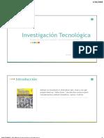 Investigacion Tecnologica 2