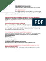 Go-food Partner Guide (Panduan Merchant)