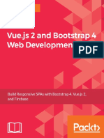 Vuejs 2 Bootstrap 4 Web Development