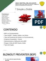 BOP Simple y Doble