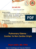 Cardiac Pulmonary Edema CPE - NCPE 09 2016- ILHAM - FINAL