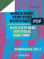 Direktori Industri Manufaktur 2017