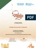 Publicación Congreso de Tratamiento de Adicciones