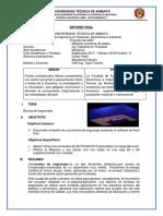 Bomba de Engranaje Informe