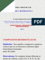 (2017-2) Quím. Org.iii Química Heterocíclica