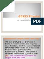 GE253 Unit 1 Lecture Slides