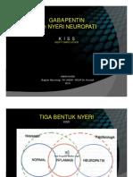 PDF Ppt Prof Amin Strong Gabapentin