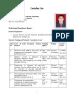CV- Dr. Alok