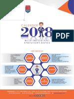 HR Statutory Compliance Calendar 2018