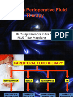 Update on perioperative fluid therapy Dr Y Narendra,SpB.ppt