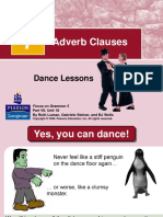 5 Adverb Clauses