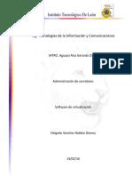 Investigación Software de Virtualización