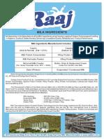Raaj Dairy ingredients brochure.pdf