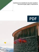 A Arquitetura de Resistencia de Zth