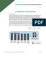 Cisco Nexus 2000 Series Fabric Extenders Data Sheet - Data_sheet_c78-507093
