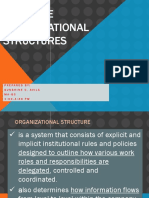 Organizational Structures
