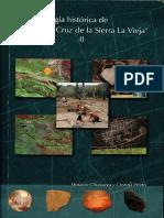 Arqueologia Historica. Santa Cruz de La