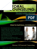 Pastoral Counseling